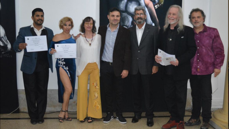 Inauguró exposición sobre tango