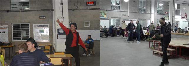 Actuación de relatos en formato de mímica