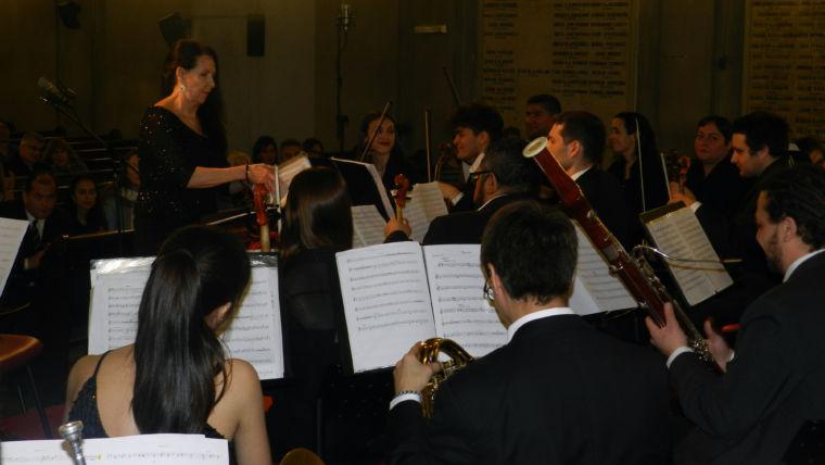 La Filarmónica UTN actuó en el Templo Libertad