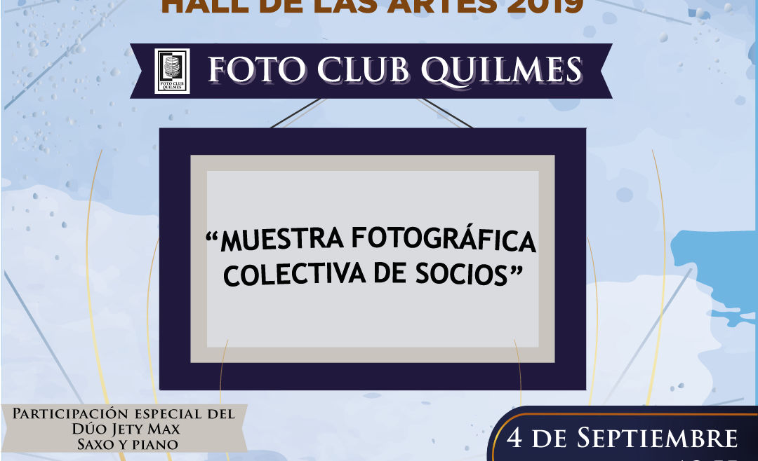 Muestra fotográfica del Foto Club Quilmes