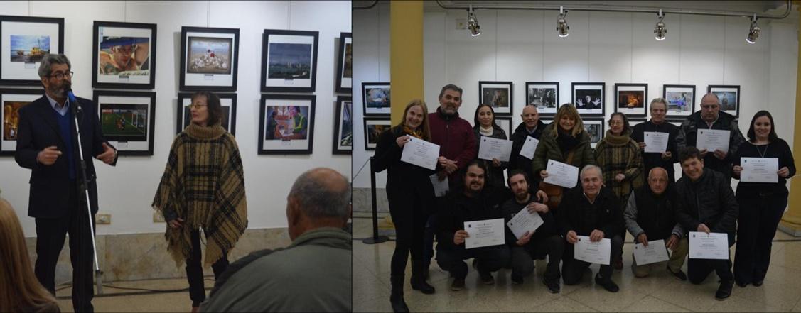 Inauguró muestra del Foto Club Quilmes