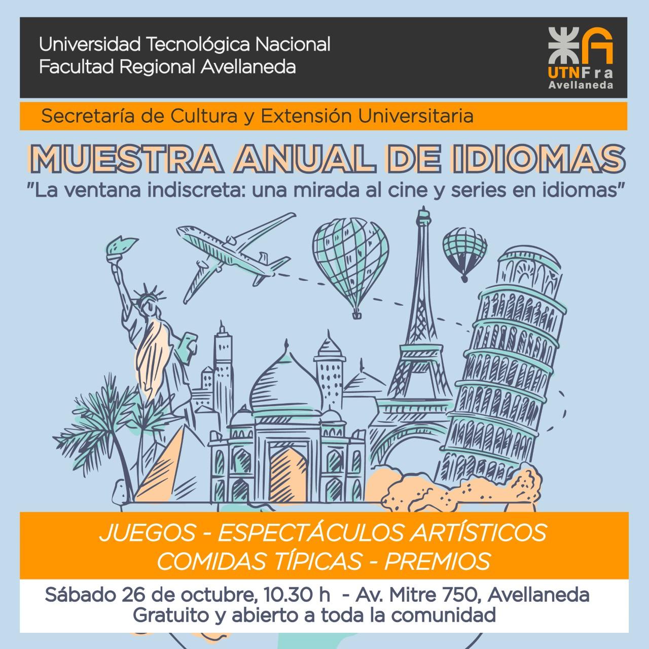 Muestra anual de idiomas