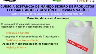 Manejo seguro de productos fitosanitarios y gestio …