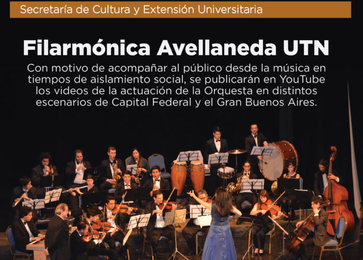 Filarmónica Avellaneda UTN en formato virtual