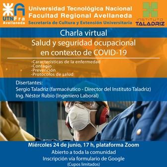 «Salud y seguridad ocupacional en COVID-19»